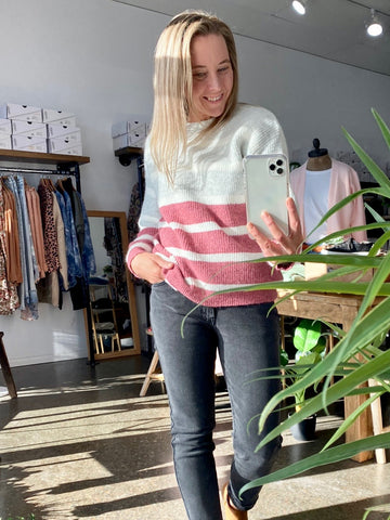 BROOKE KNIT TOP - CACTUS