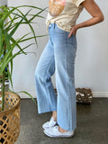 STELLA WIDE LEG JEAN - LIGHT BLUE