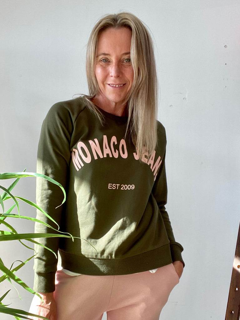 MONACO SWEAT - KHAKI
