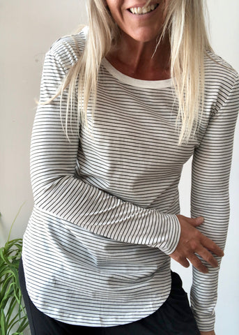 FLUR JUMPER - GREY MARLE