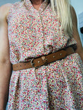KEILY DRESS - DUSTY PINK FLORAL