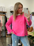 HESTON SWEATER - PINK