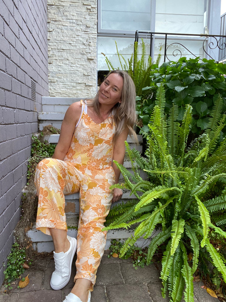 SUNSHINE JUMPSUIT - SUNSHINE PRINT