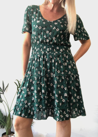 DELILAH DRESS - FLORAL MULTI