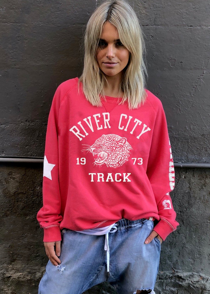 RIVER CITY SWEAT - RED