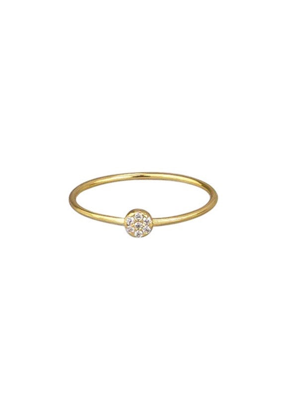 Petite Circle Ring - Gold