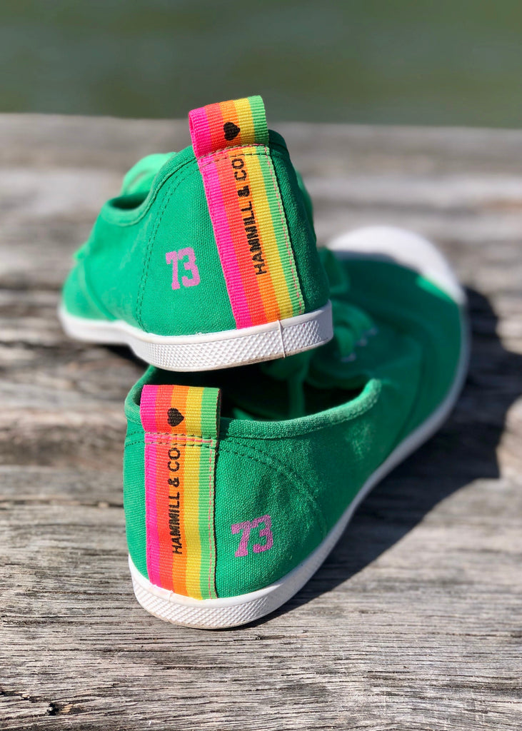 CANVAS SNEAKER - GREEN