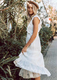SWEETHEART DRESS - WHITE