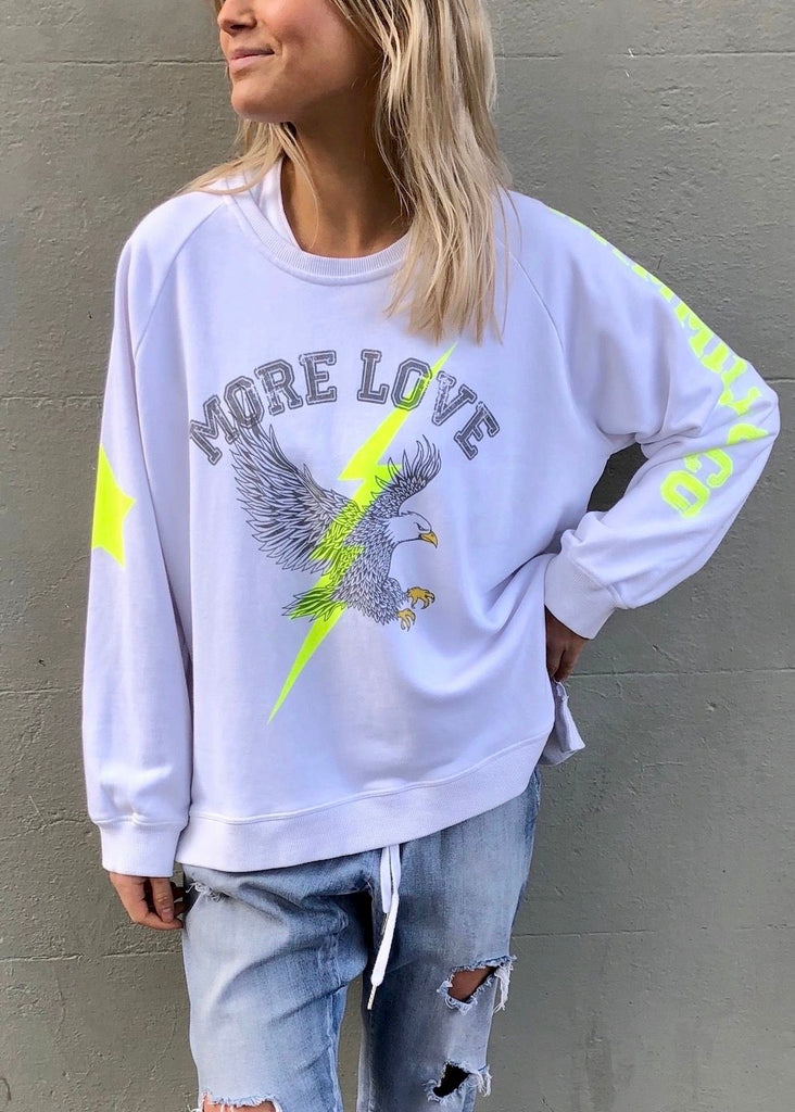 EAGLE SWEAT - WHITE
