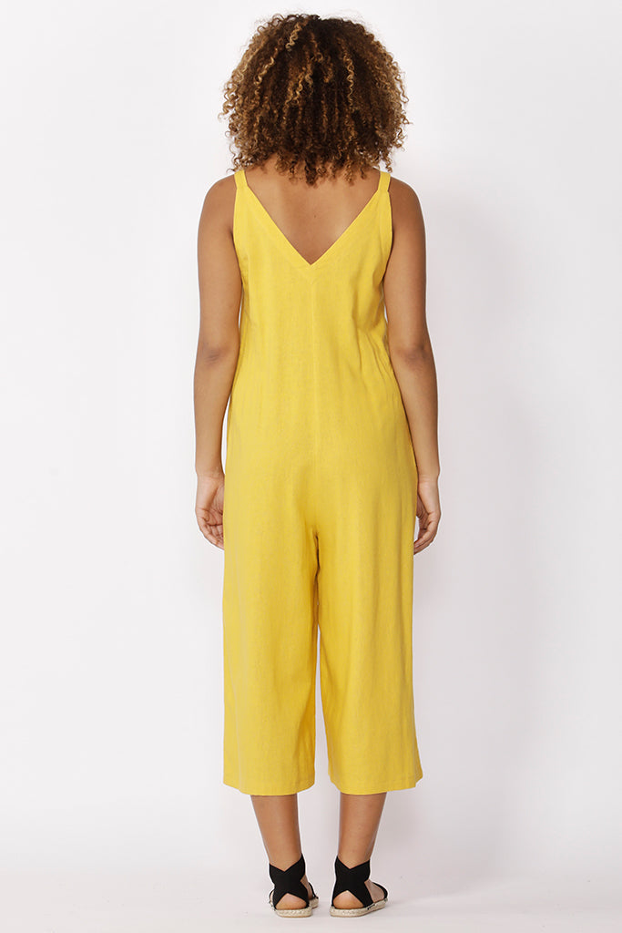 HENDRICK JUMPSUIT - SUNFLOWER