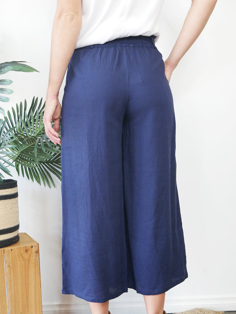 LANI PANTS - NAVY