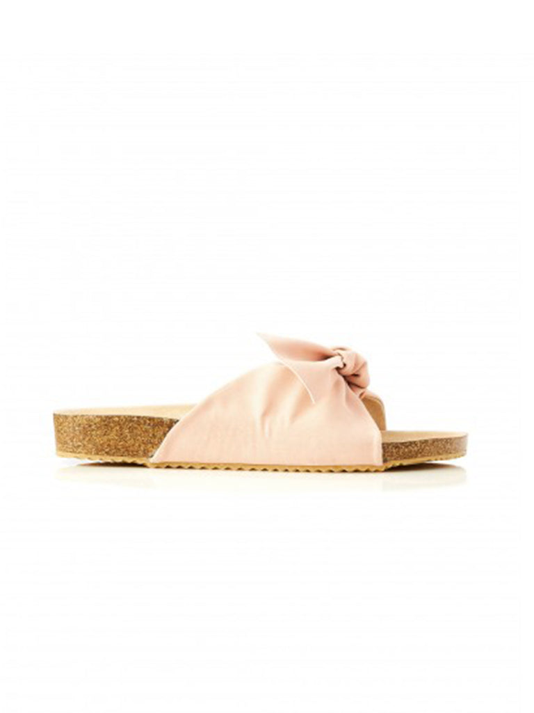 SOMERSET BOW SLIDE- PINK