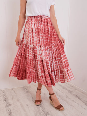 AUBREE SKIRT - FERN