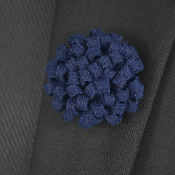 Men's Flower Boutonniere - Men's Fad