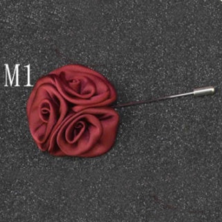 Mens Rose Flower Pin Brooches Lapel Stick - Men's Fad