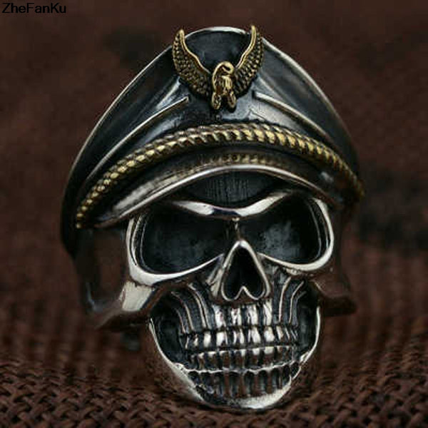 Captain Skull Ring - Men's Fad