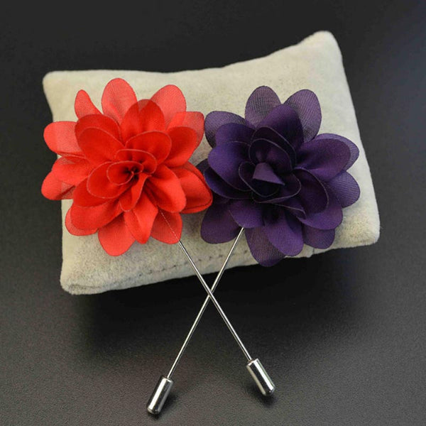 Flower Brooches/ Boutonniere - Men's Fad
