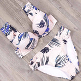 Sexy Swimwear Women Swimsuit Push Up Brazilian Bikini set Bandeau Summer Beach Bathing Suits