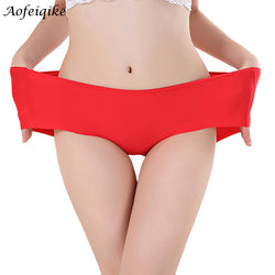 Women's Fashion Invisible Underwear Spandex Seamless High Quality Briefs Panty Bikini Newest