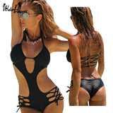 Bathing Suit Monokini Trikini One Piece Swimsuit Swimming Suit Maillot De Bain Une Piece