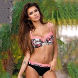 Sexy Print Swimwear Women Bikini Set New Push Up biquini Female Swimsuit Brazilian Bathing Suit bathers Beach Swimming