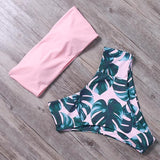 Bandage Bikini Swimwear Women Swimsuit High Waist Bikini Set Bathing Suit Push Up Maillot De Bain Femme Beachwear