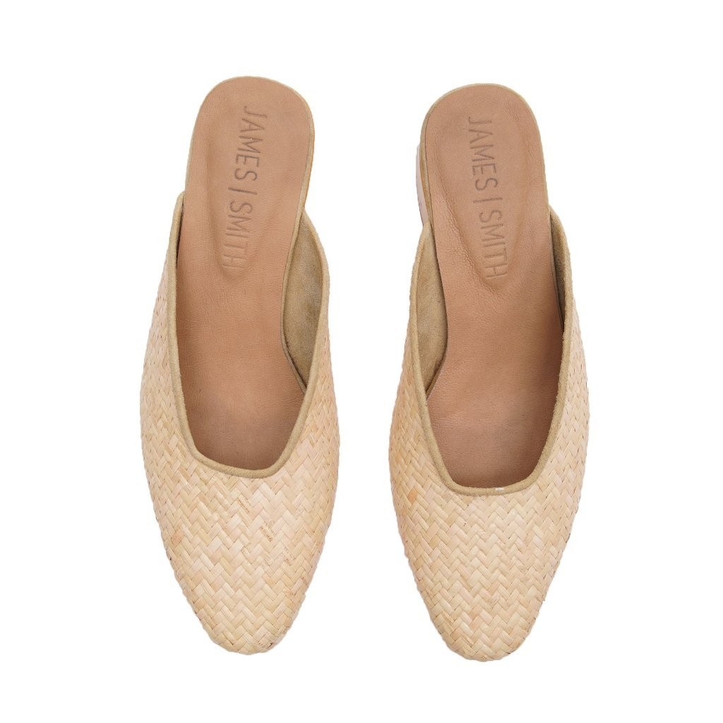 JAMES SMITH Cafe Society Shoe in Woven