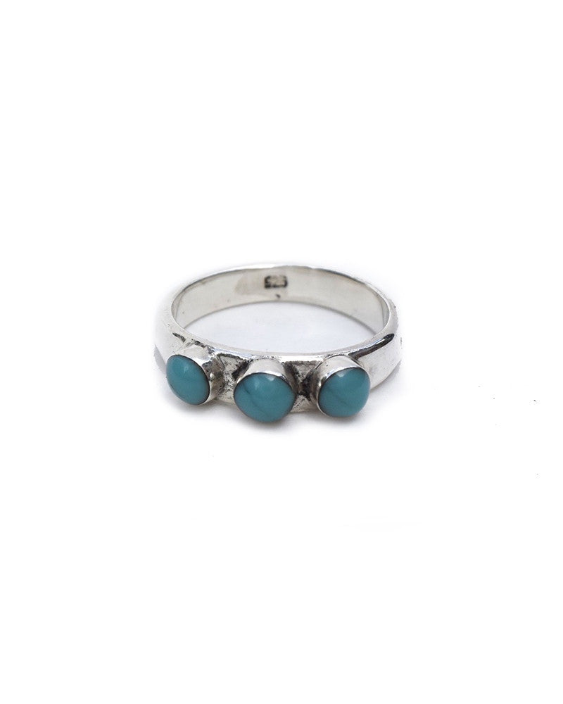 TURQUOISE + TOBACCO Crow Ring