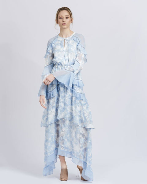 WE ARE KINDRED Morning Frost Maxi Dress