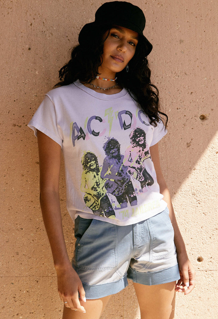 DAYDREAMER AC/DC Jailbreak Reverse Girlfriend Tee