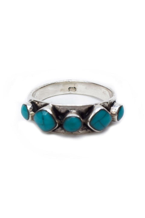 TURQUOISE + TOBACCO Hideaway Ring