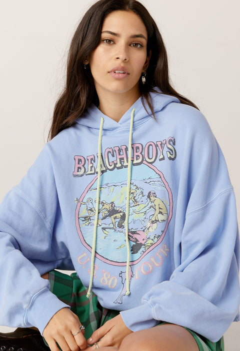 DAYDREAMER The Beach Boys US '80 Tour Oversized Hoodie