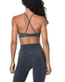 ELECTRIC & ROSE Beach Sports Bra in Shadow