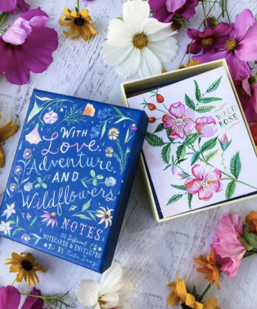 WITH LOVE, ADVENTURE AND WILDFLOWERS