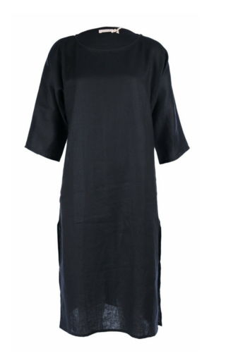 LILYA Encore Shirt Dress in Black