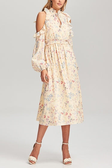 STEELE. Le Bloom Midi Dress