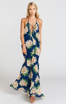 SHOW ME YOUR MUMU Logan Lace Up Maxi