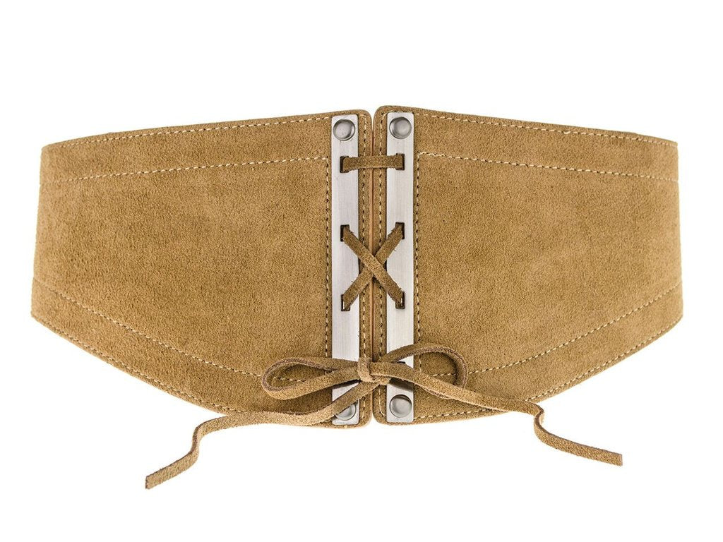 LOVESTRENGTH Roxy Belt in Tan