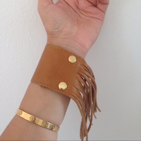HEATHER GARDNER Cali Cuff with Fringe