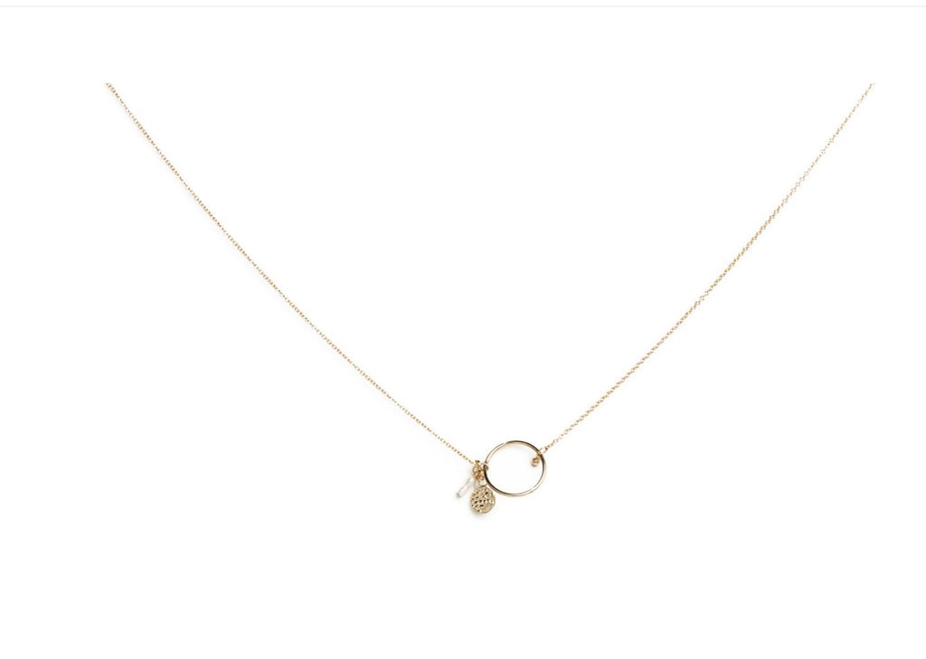 Sofia necklace gold