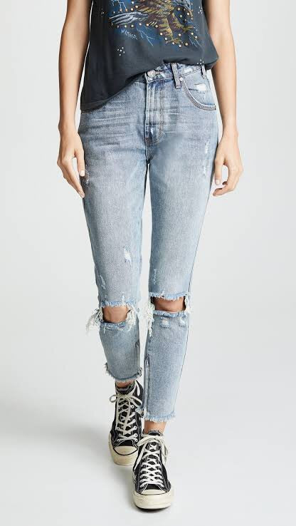 ONE TEASPOON Storm Boy Freebirds High Waist Skinny Jean