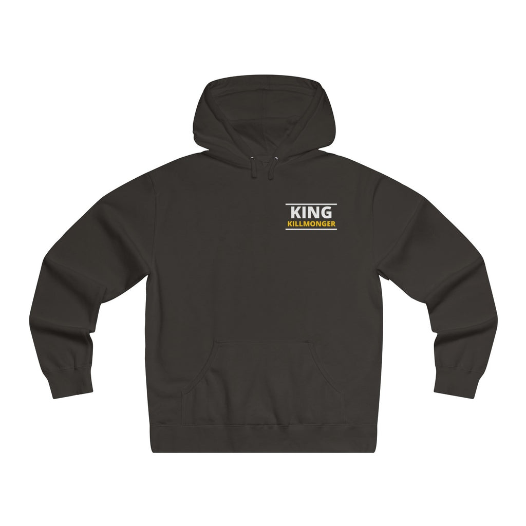 """KING KILLMONGER"" Men's Lightweight Pullover Hooded Sweatshirt"