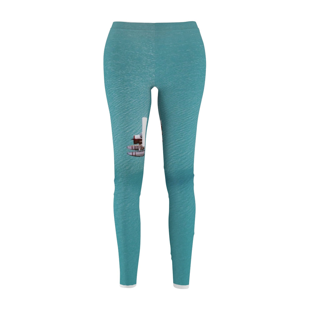 """THE OCEAN"" Women's Cut & Sew Casual Leggings"