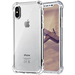 SFS iPhone X Clear rugged Case