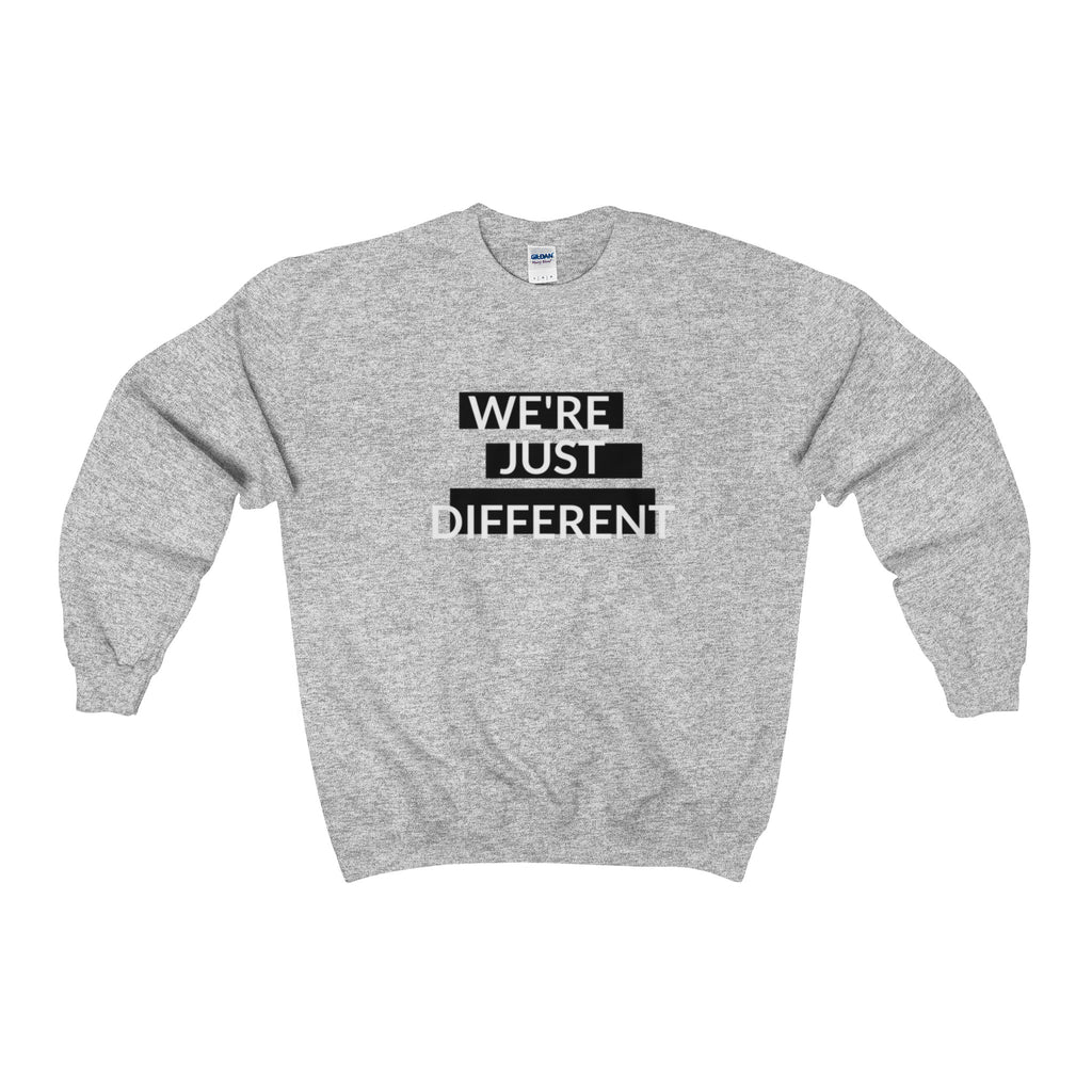 """DIFFERENT"" Unisex Crewneck Sweatshirt"