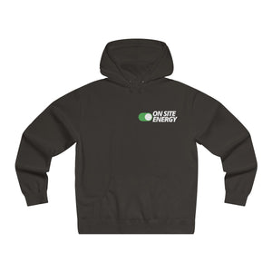 """ON SITE  ENERGY"" Lightweight Pullover Hooded Sweatshirt"