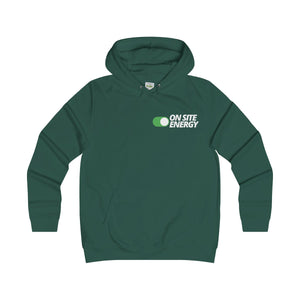 """ON SITE ENERGY"" College Hoodie"