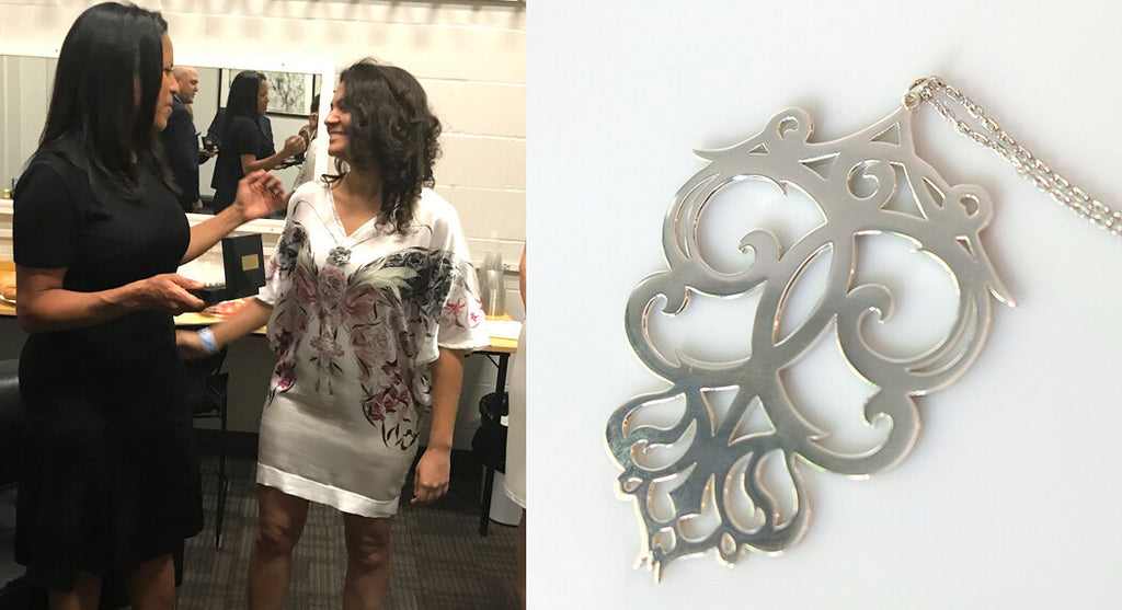 Annie Moran Designs Custom Jewelry Piece For Essence Festival Leadership