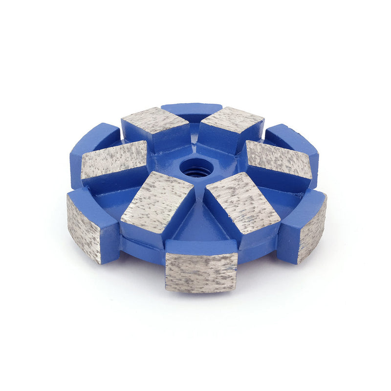 "Mushroom-Head Milling Cutter<br><h5>3.819"" or 97 mm<br>Machined for Minimum Runout</h5>"