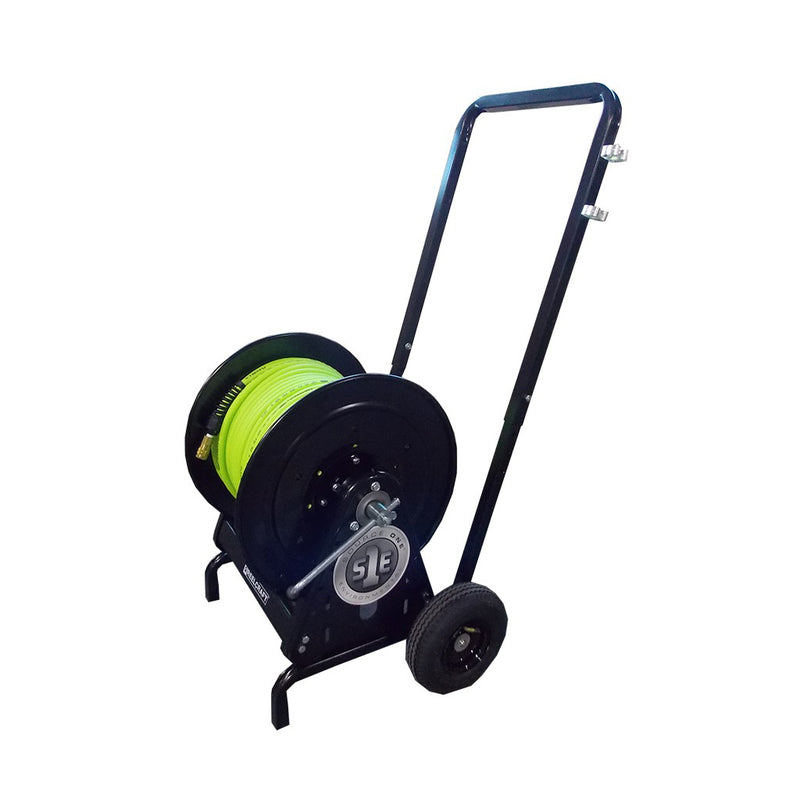 PipePatch 250' Hose Reel and Cart Large Diameter